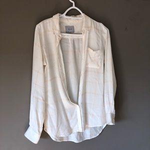 Rails plaid button down shirt size xs top